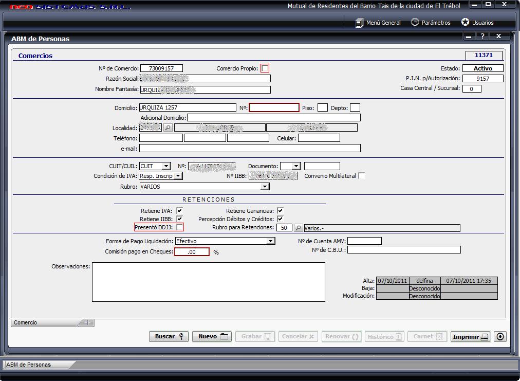 SIGMA Software Mutuales - Tarjeta de Crédito / Ordenes de Compra ...